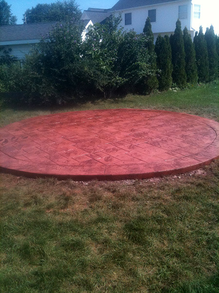 Stamped Concrete Masons Fairport, NY