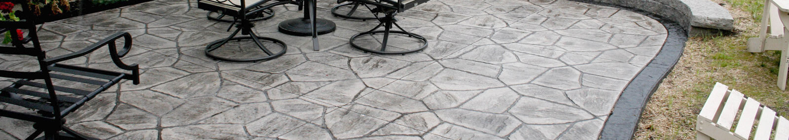 Stamped Concrete Patio Rochester Sidewalks Driveways
